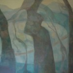 Blue Stone, 36x46